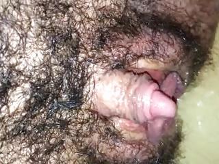 Big clit hairy
