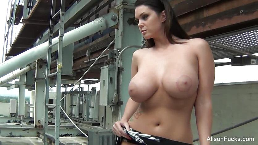 Behind the scenes with beautiful brunette Alison Tyler   PornTube ®