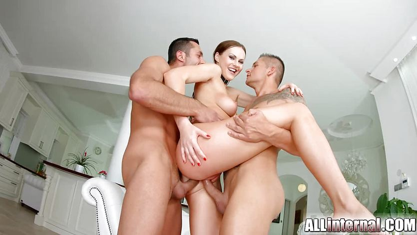 Tina Kay anal gangbang creampie on All Internal part 2 | PornTube ®