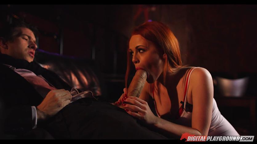 Ella Hughes rides on the monster dick of Danny D | PornTube ®