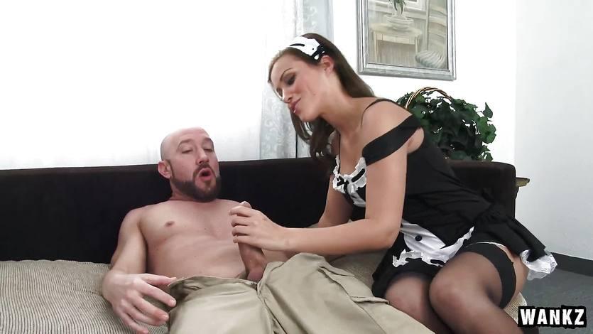 Pussy slamming balls deep smoking hot maid Karter Foxx | PornTube ®