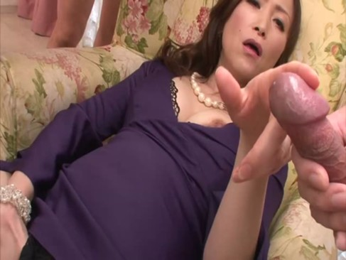 HD asian MILF in stockings masturbates