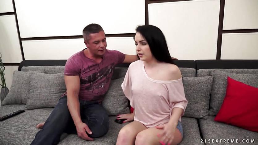 Kattina Ivory riding on a stiff cock | PornTube ®