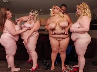 BBW trio enjoying an amazing sexual orgy