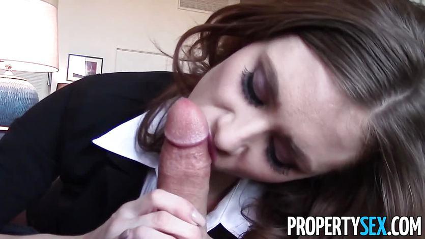 PropertySex Cherrypicking Anya Takes Client's Virginity | PornTube ®