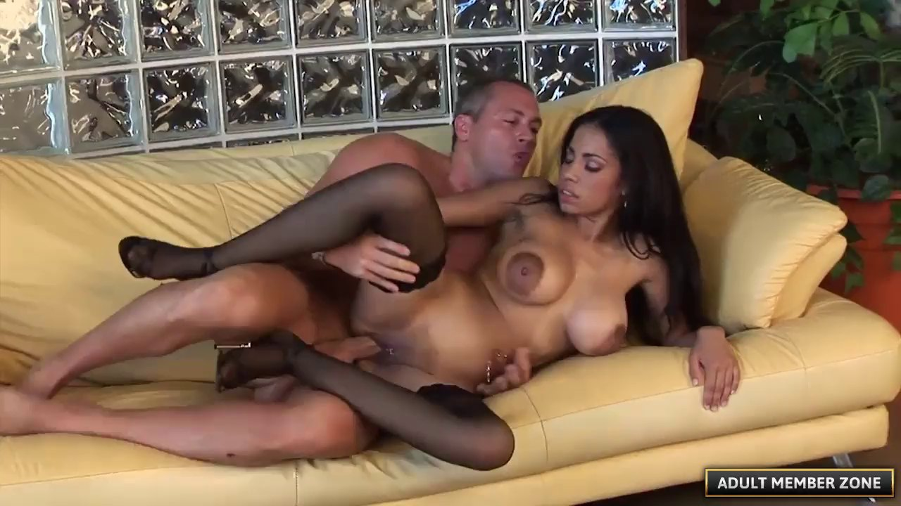 Sexy Pierced Pussy Of A Big Tits Chick Gets Fucked Hard