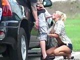 Lodzik w zamian za pomoc przy samochodzie