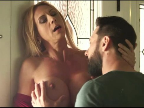 incredible big boobs stepmom returns the favor to her stepson