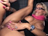 Bums Bus - Mature German blonde gets her cunt crammed with dick in the van