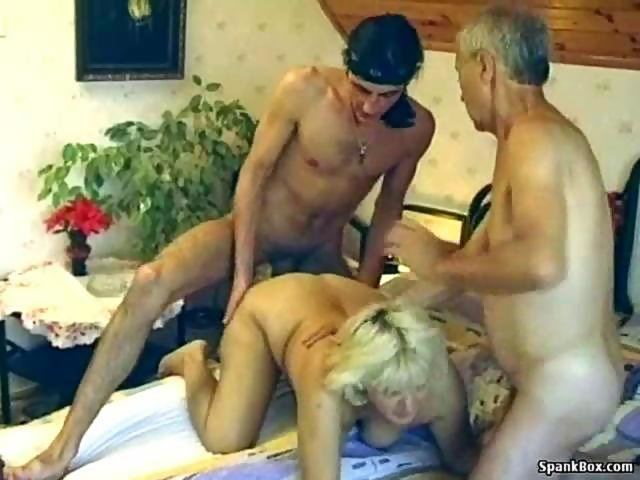 Hairy granny enjoys threesome on GotPorn (5598441)