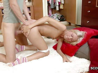 Bro Seduce Extrem Hot Skinny Teen To Fuck and Facial