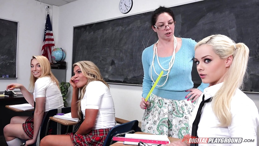 Elsa Jean gives the real sex education experience