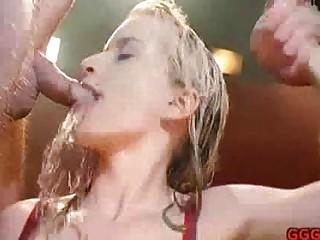 Perverse pissing gangbang - Sunporno Uncensored
