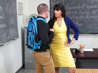 InnocentHigh Hot MILF Teacher Fucks Student (New! 3 Nov 2016) - Sunporno