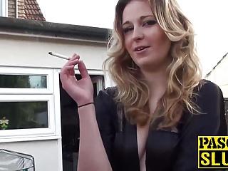 Hot brunette babe Rachel has a massive turn on for older men