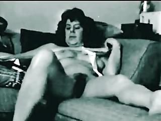 Vintage hairy Janis porno