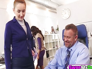 Gigi Flamez and Katalina Mills getting pounded in office (New! 25 Nov 2016) - Sunporno