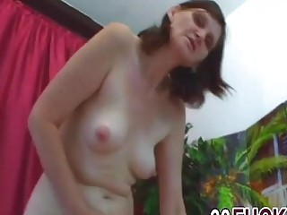 Naked mature delights with much younger cock in her vag (New! 30 Nov 2016) - Sunporno