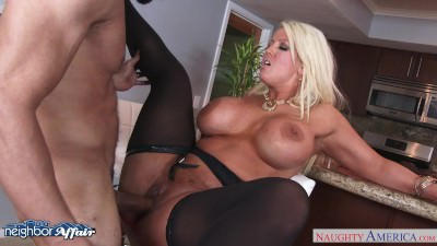 Busty blonde Alura Jenson fuck her neighbor - Porn Video 231