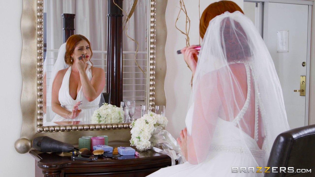 Chubby Redhead Bride Lennox Gets Her Tasty Muff Plugged Hard