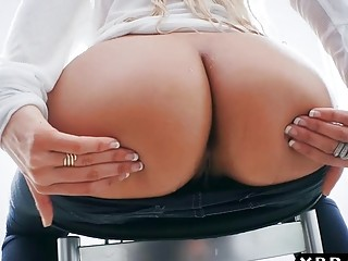Big round ass latina blonde Luna Star gets anal pounded (New! 9 Dec 2016) - Sunporno