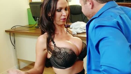 Good office sluts love to suck cock and Nikki Benz is a BJ queen - Big Tits porn