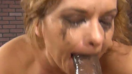 Bosomy European fuck doll Katja Kassin presented sloppy DT to her black BF on POV cam - Interracial porn