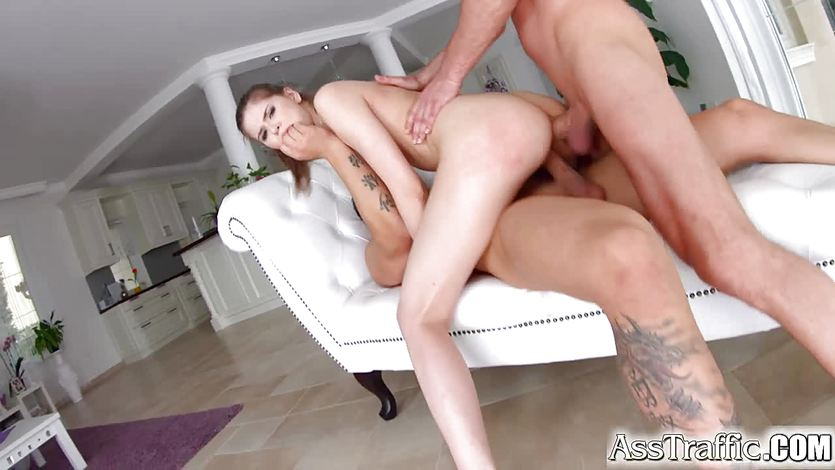 Ass Traffic Anna Taylor double penetration anal hardcore