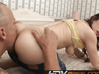 Brunette Jennifer White Ass Licking and get Cumshot (New! 19 Jan 2017) - Sunporno