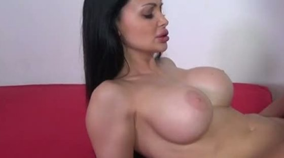 Blond dude fingers and fucks hot muff of boobalicious raven haired hottie Aletta Ocean tough - Hardcore porn