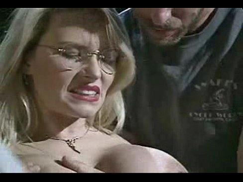 Oiled up MILF in glasses