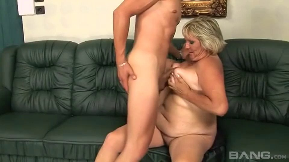 Blonde Cougar Kokai Knows How To Make A Boner Stiff